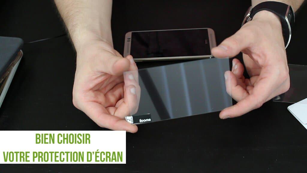 ecran smartphone protection
