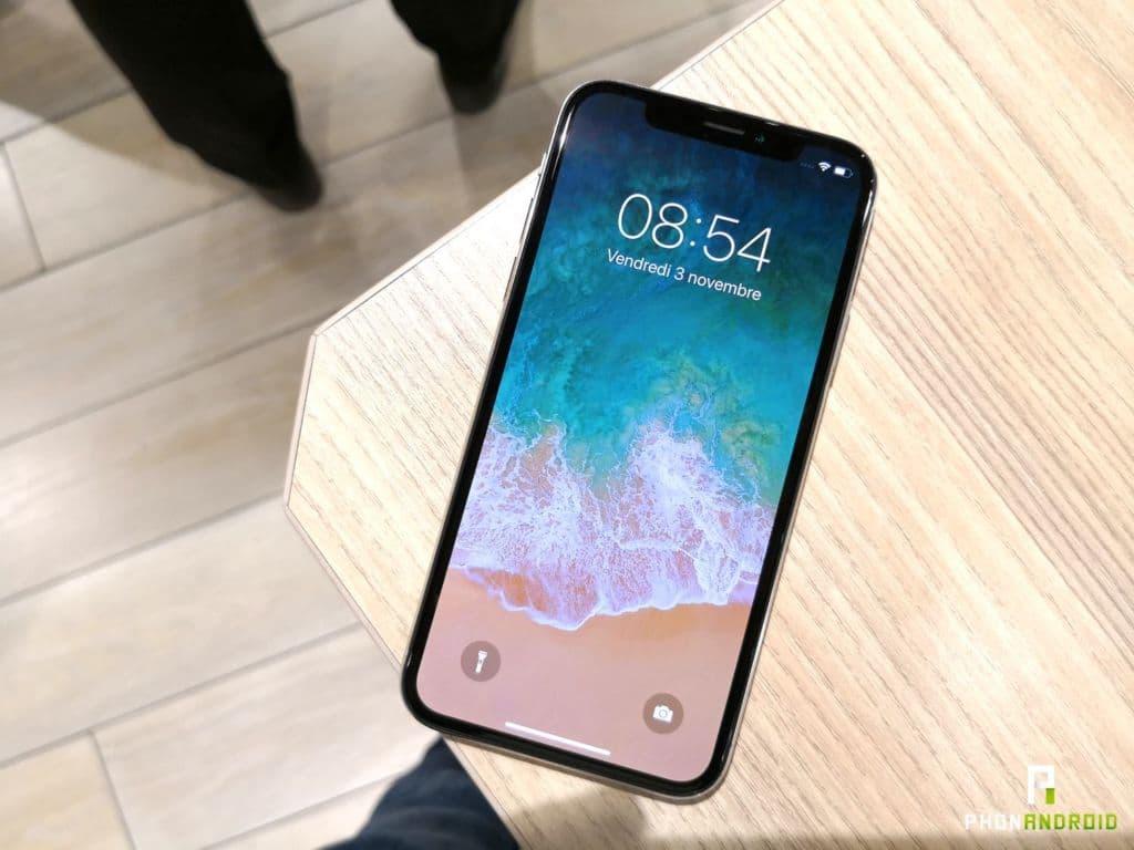 iphone 2018 ecran oled LG
