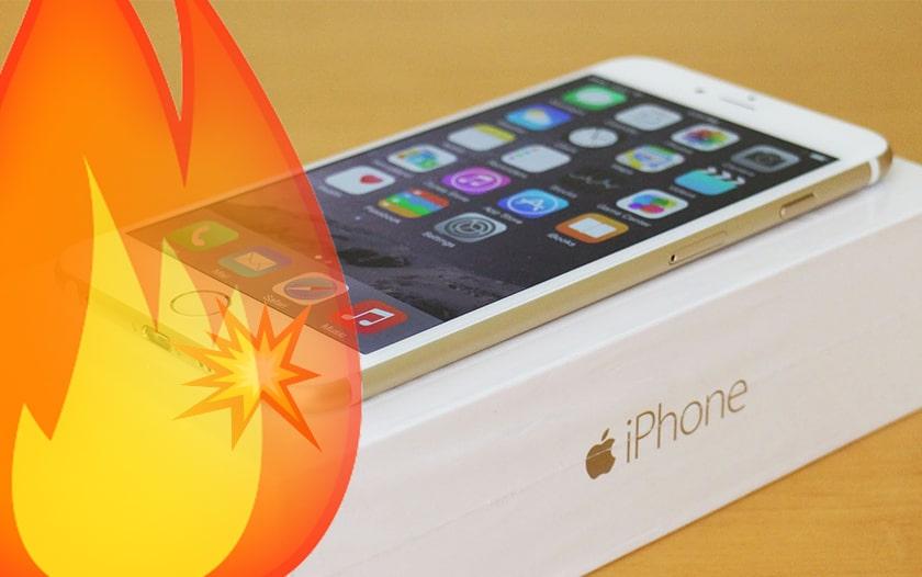 iphone explosion