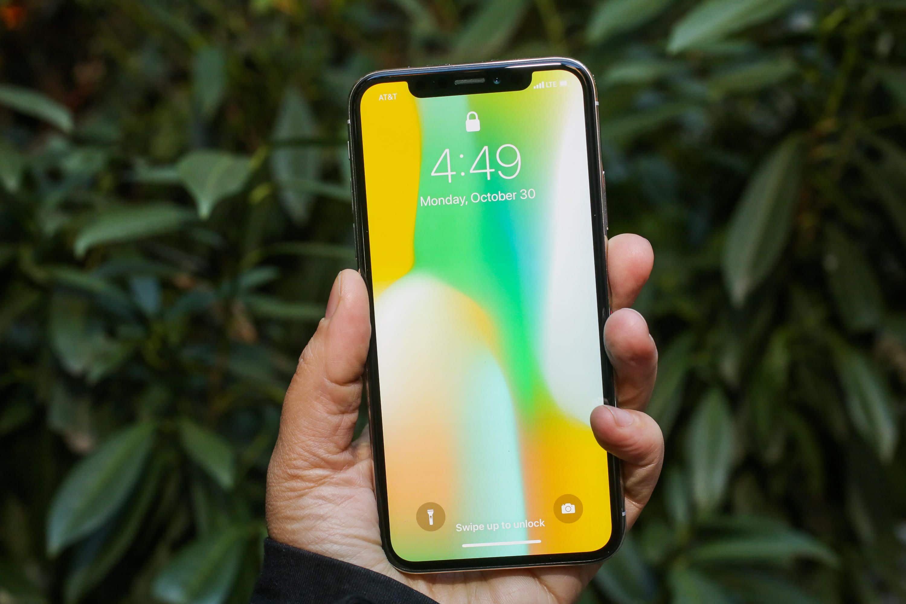 iphone x design raté