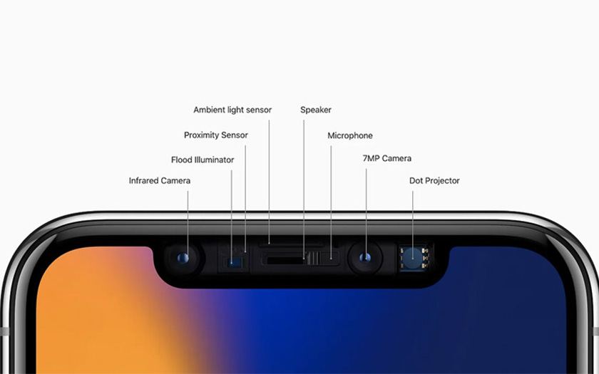 iphone x face id true depth