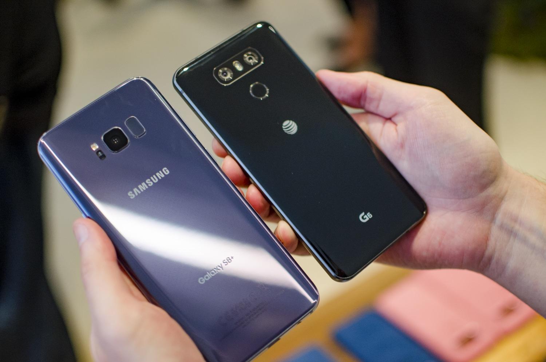 lg samsung flagships smartphones