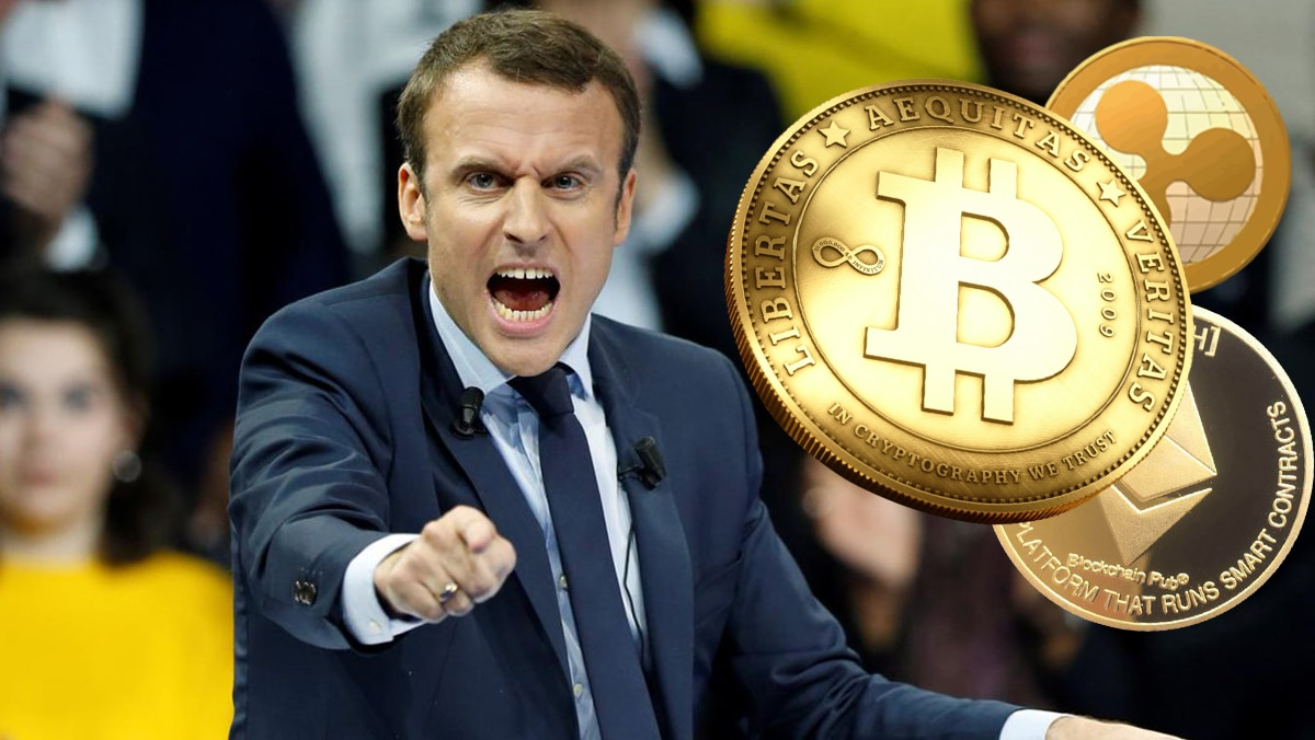 macron bitcoin