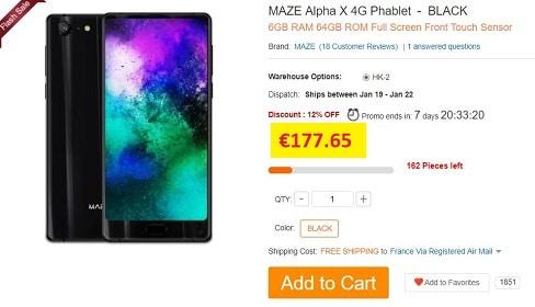 maze alpha x gearbest
