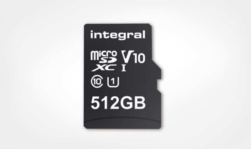 microsd 512 go integral
