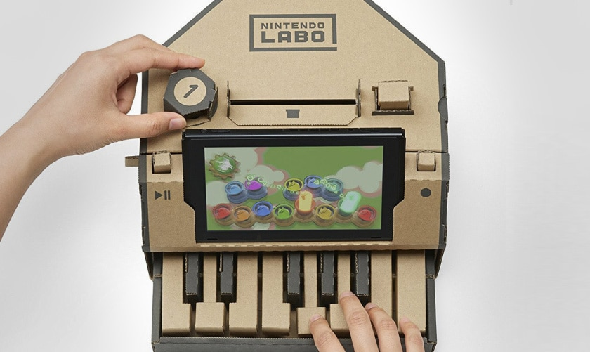 nintendo labo kit piano