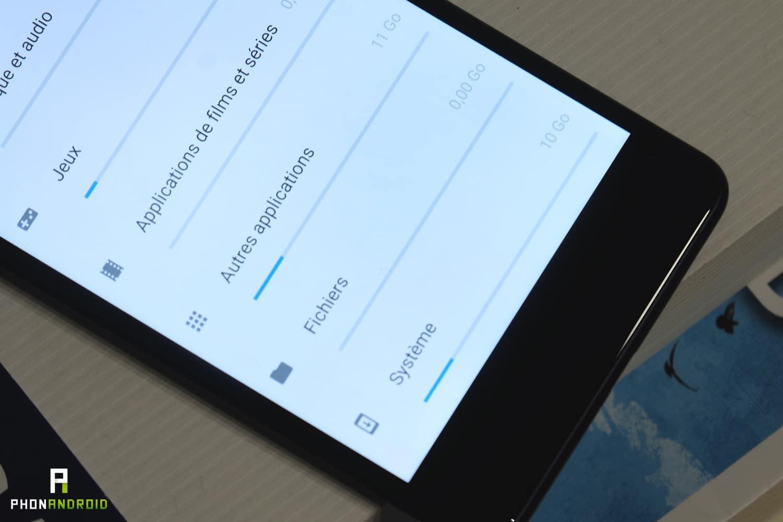 nokia 8 android pur memoire stockage