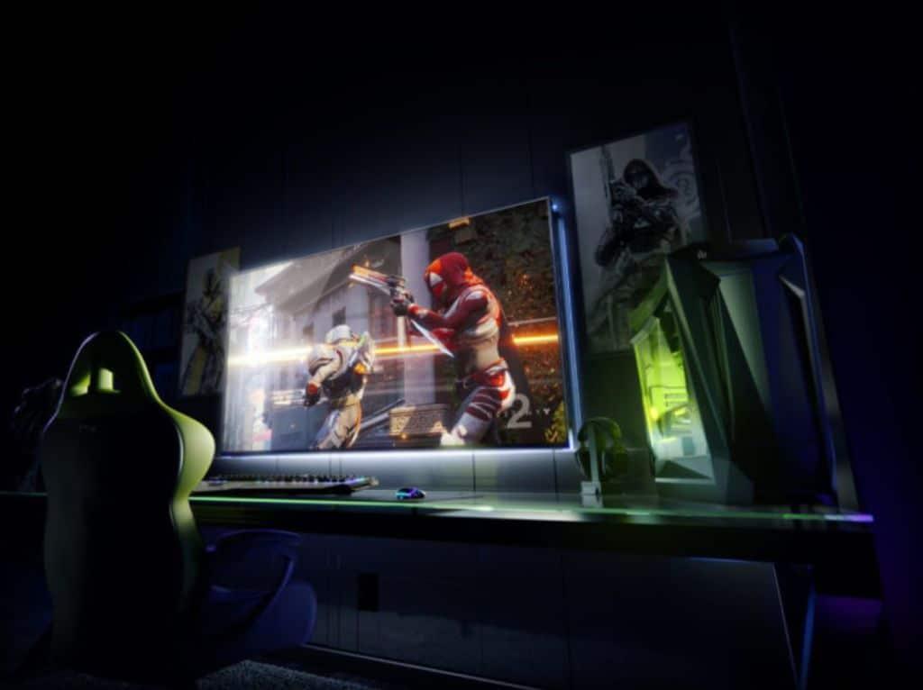 nvidia ecran 65 pouces 4k hdr