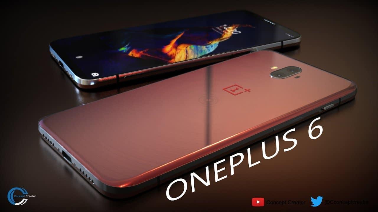oneplus 6 design verre