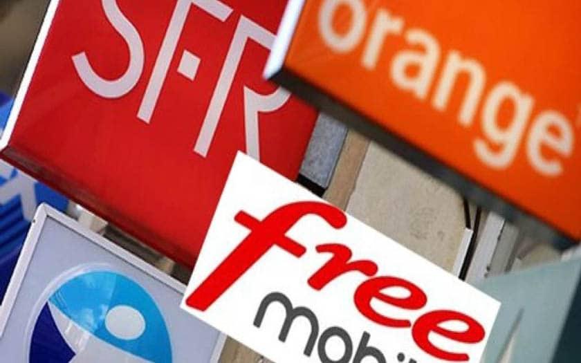 revenus operateur baisse 4g orange free bouygues sfr