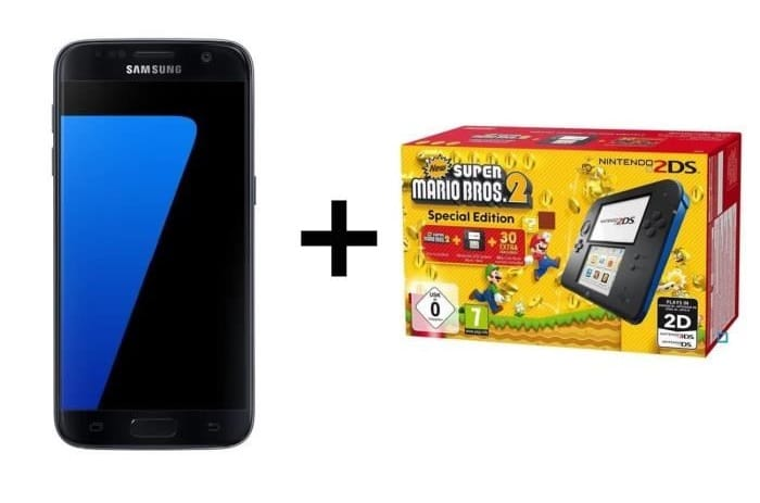 Samsung galaxy s7 edge nintendo 2ds soldes hiver 2018