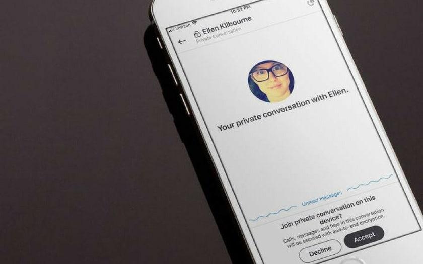 Skype - Conversations privées