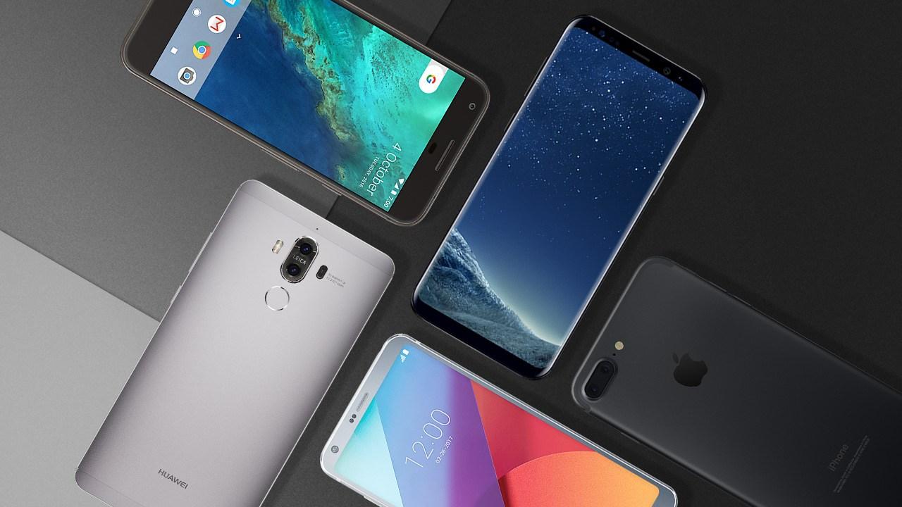 smartphones android février 2018