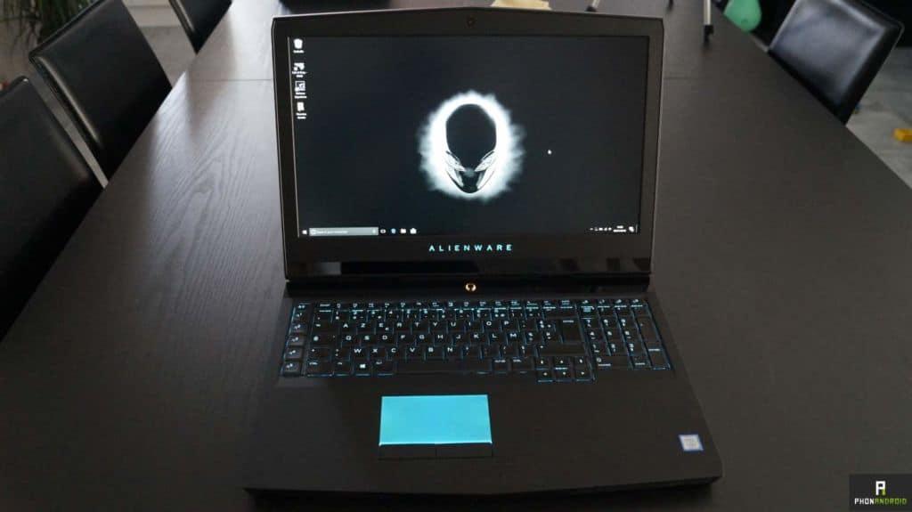 test alienware 17 r4
