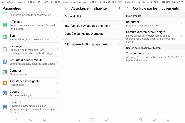 test huawei p smart fonctionnalites