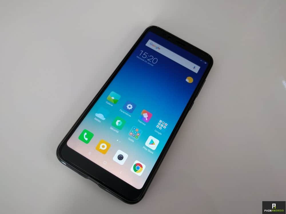 test xiaomi redmi 5 plus