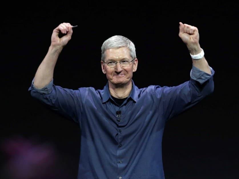 tim cook iphone x apple