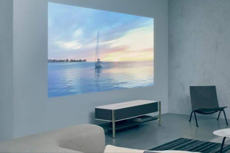 ces 2018 sony d voile un vid oprojecteur surpuissant diffusant une image 4k de 120 pouces. Black Bedroom Furniture Sets. Home Design Ideas