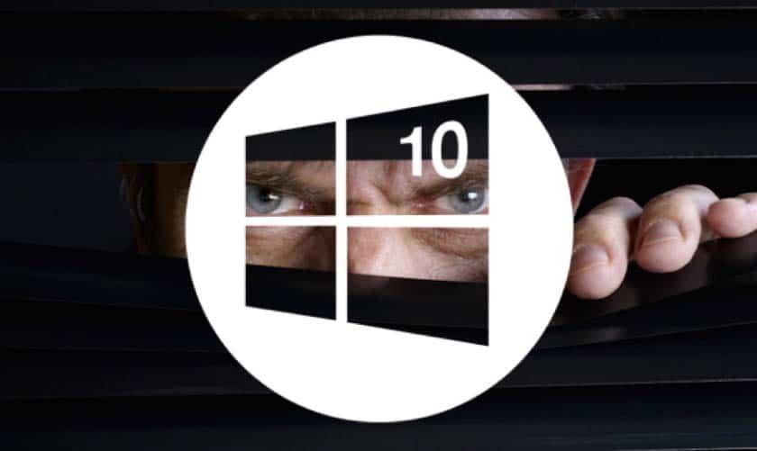 windows 10 espion