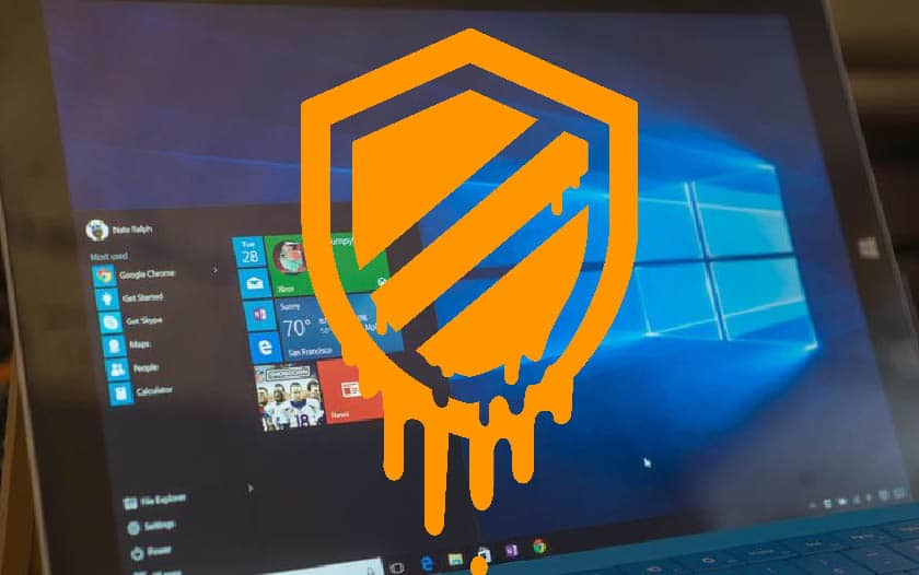windows 10 meltdown