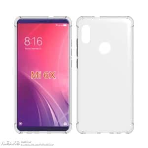 xiaomi mi 6x design fiche technique