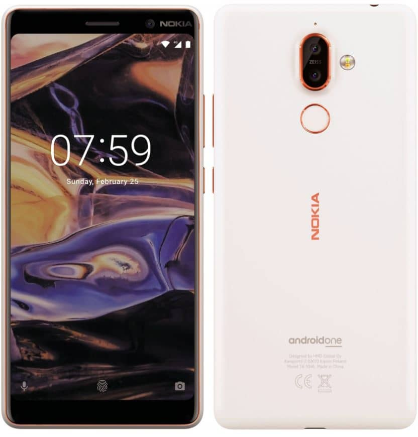 Nokia 7 Plus 1 design