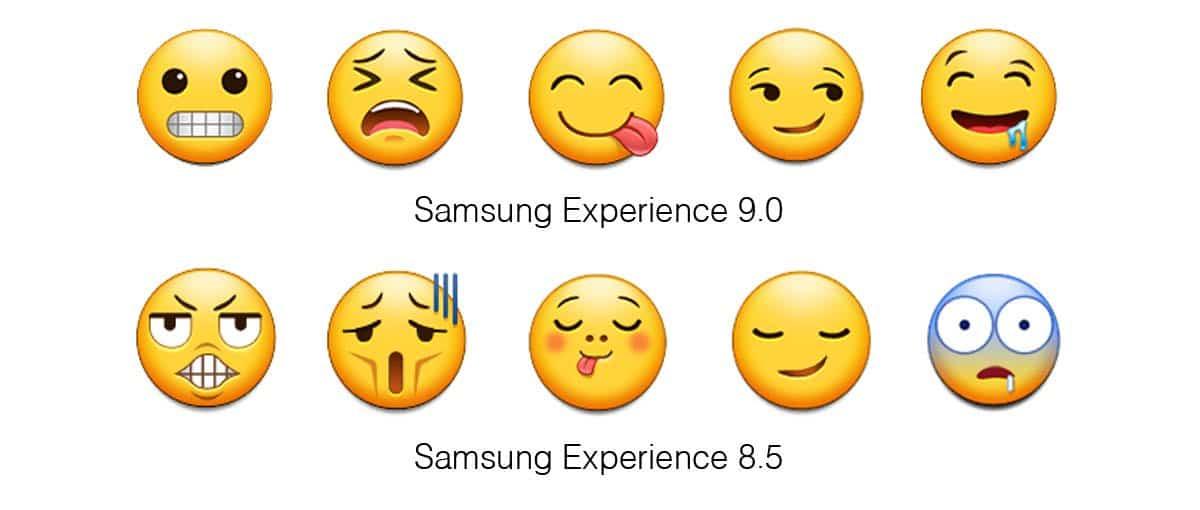 Samsung Experience emojis