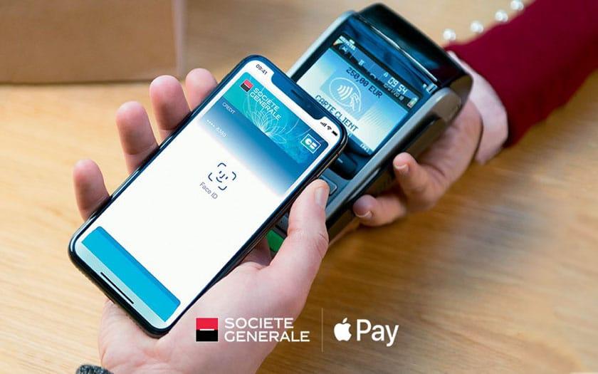 Paiement mobile : la Société Générale ajoute Apple Pay
