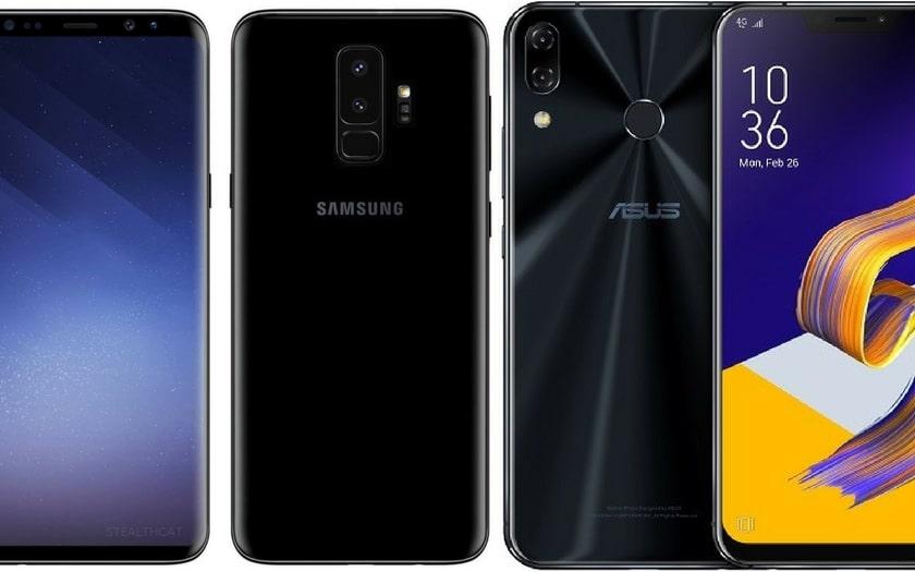 Asus Zenfone 5z vs Samsung Galaxy S9