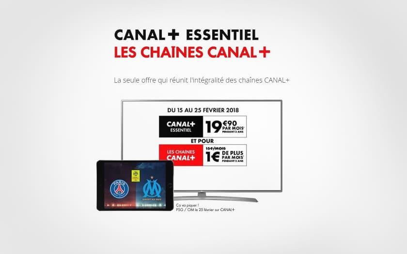 canal+ vente privee à 20.90€ pendant 2 ans