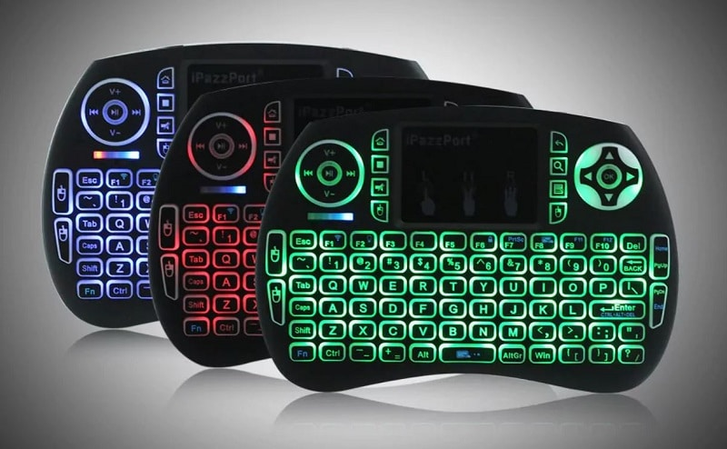 clavier azerty ipazzport à 6.63 € sur gearbest