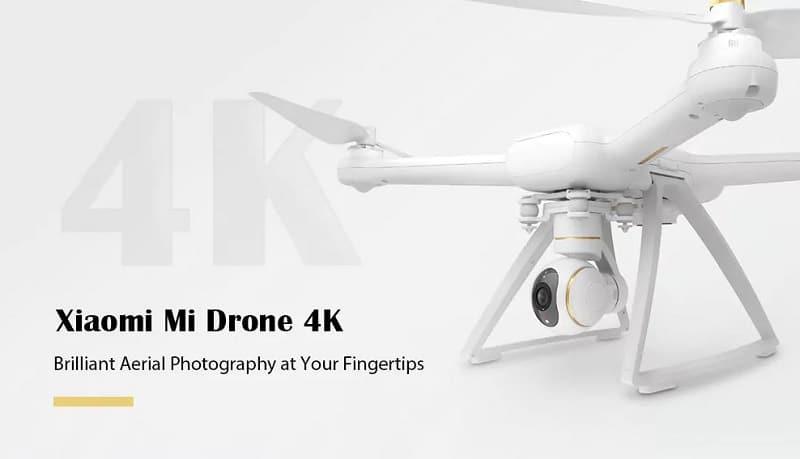 drone xiaomi mi 4k moins cher à 414 euros sur gearbest