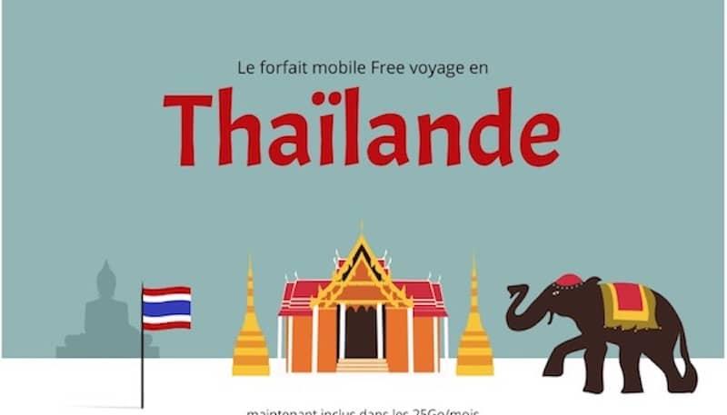 free mobile thaïlande