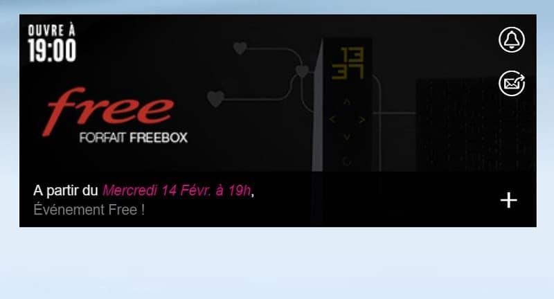 vente privée freebox pour la saint valentin