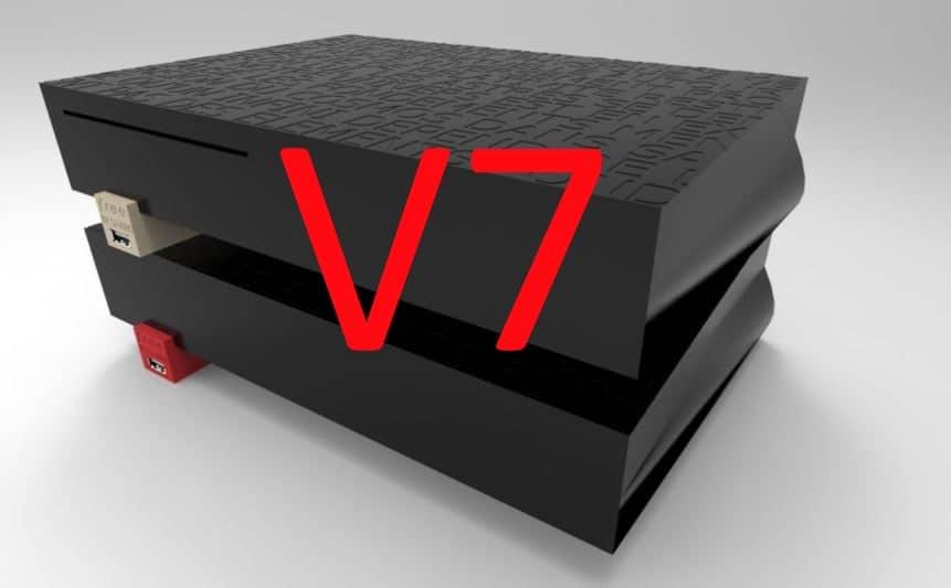 Freebox v7 box internet