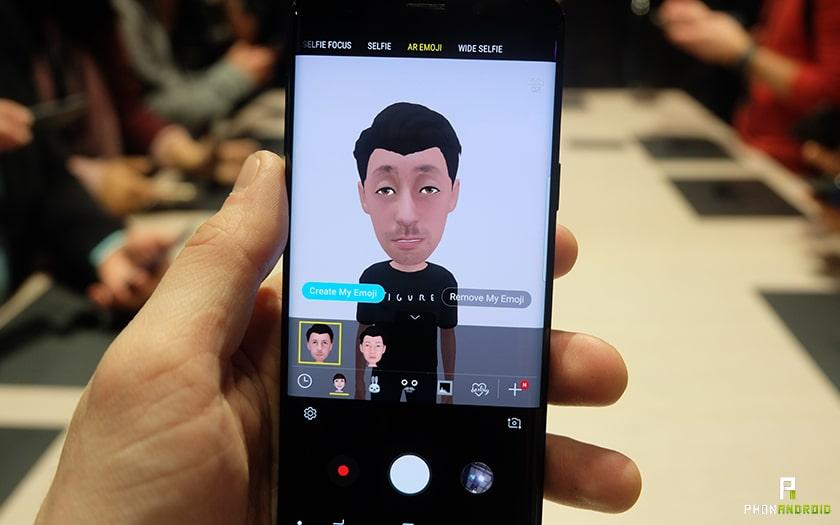 galaxy S9 emojis 3D