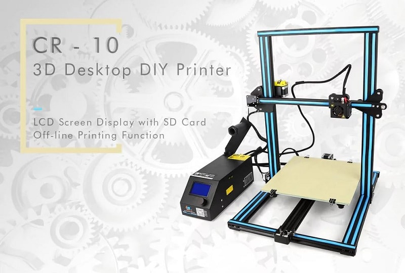 imprimante 3d cr10 moins chere à 306 euros chez gearbest