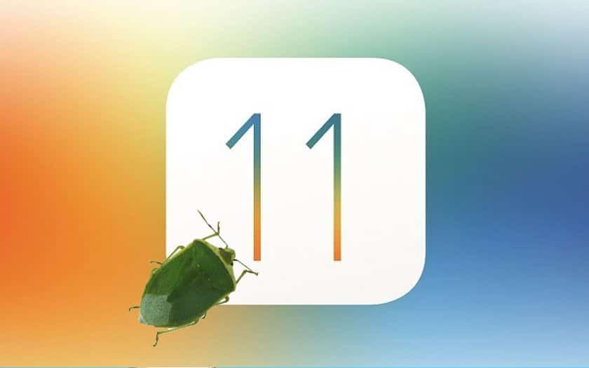 ios 11 bug