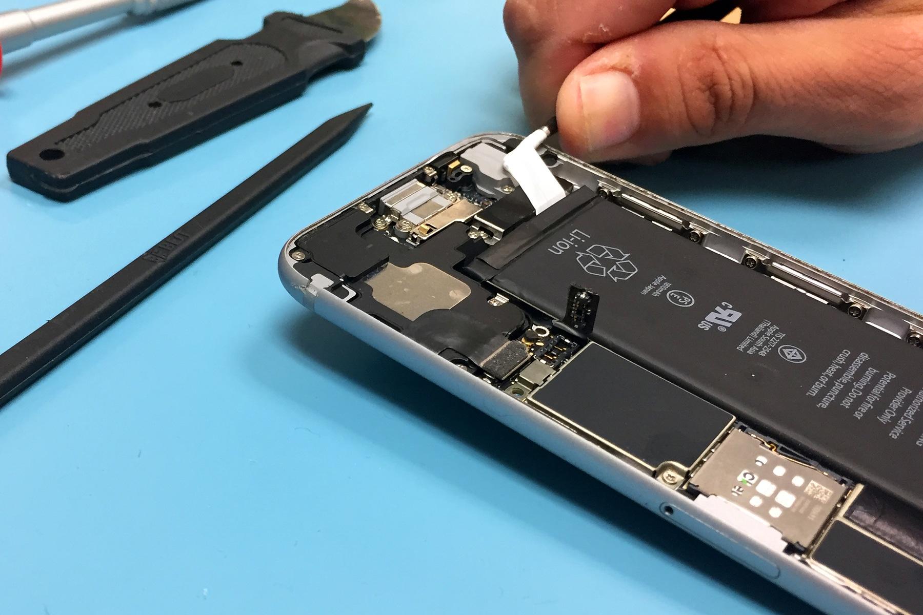 iphone lents batteries remplacement remboursement