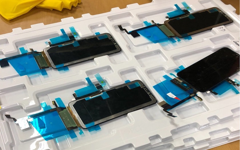 iphonex plus ecran apple
