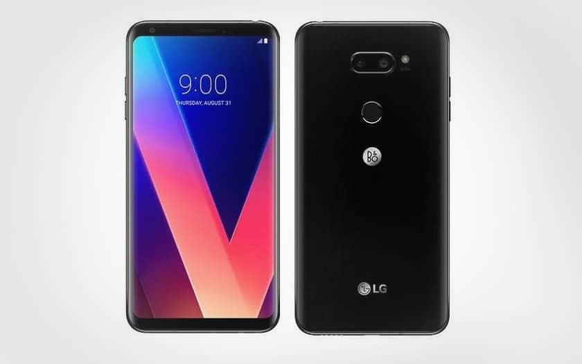 LG V30+ moins cher à 547 € sur ebay