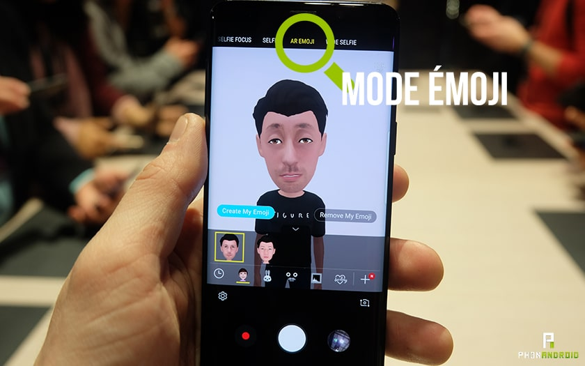 mode émoji s9
