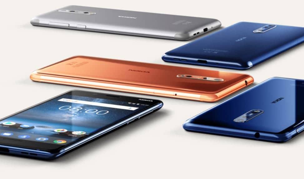 nokia smartphone google htc sony oneplus