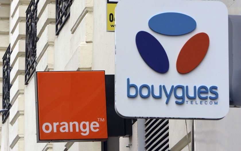 Orange, Bouygues