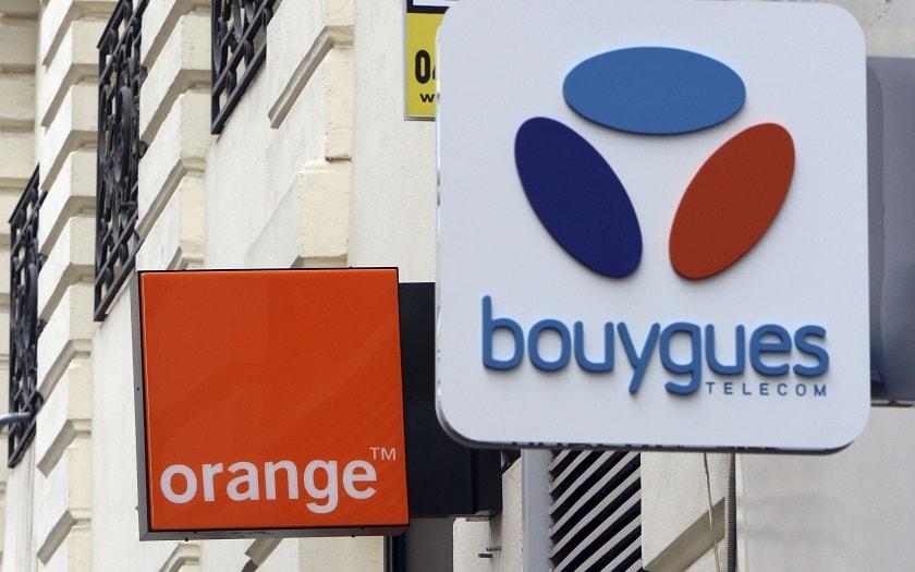 Orange, Bouygues