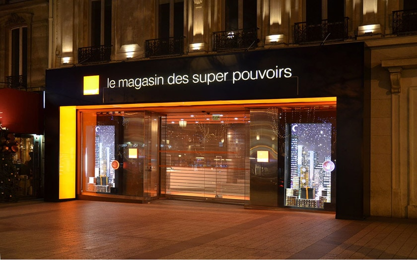orange magasin