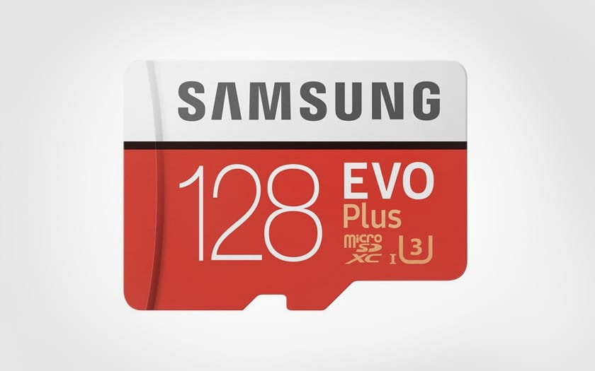 samsung carte micro sd evo plus 128 go