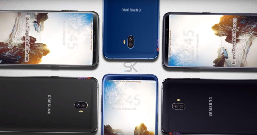 samsung galaxy C10 design borderless