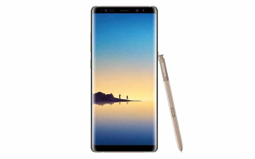 samsung galaxy note 8 à 696 euros sur Amazon
