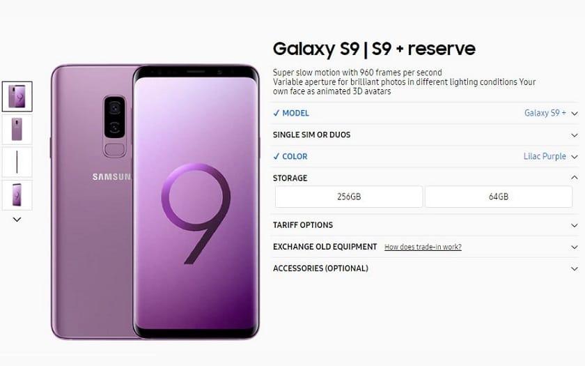 Samsung Galaxy S9 256 Go